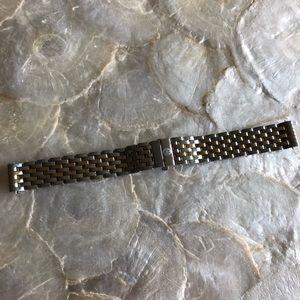 Michele Deco 16mm Two-Tone Watch Bracelet